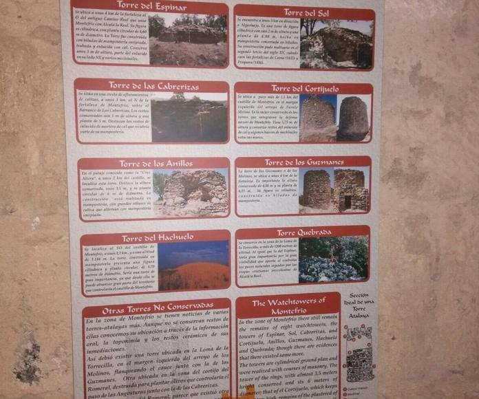 las Atalayas de Montefrio. Rutas Turísticas Montefrio
