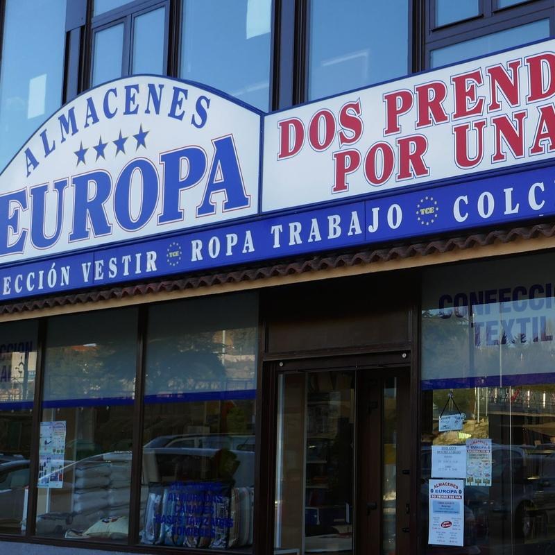 Almacenes Europa: Tiendas de Zoco Villalba