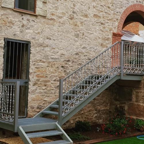 Escalera de hierro Tárrega