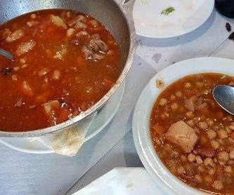 Especialidades: Cocina casera de Restaurante El Cocinero