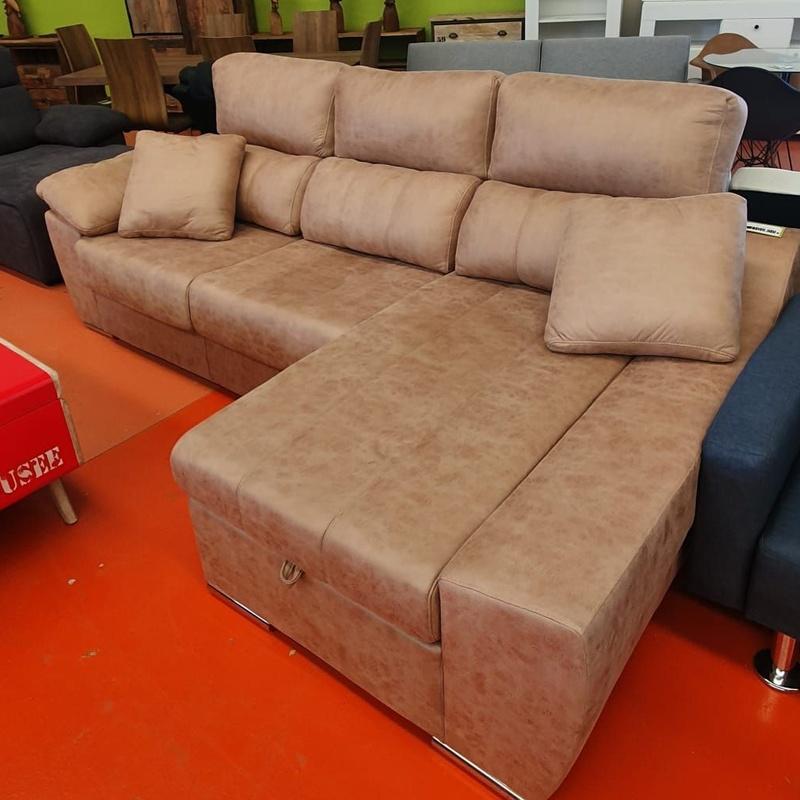 Sofá chaise longue 270x150 cm: Servicios y productos de Remar Castellón