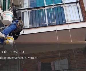 Trabajos verticales en Toledo: Rehabilitaciones y verticales Vera