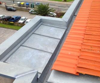 Reparación e impermeabilización de terraza, cubierta o tejado en Santander: Trabajos verticales Santander  de Trabajos Verticales Cantabria