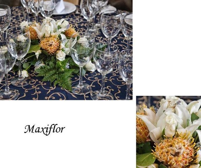 Trabajos florales para eventos : Catálogo  de Floristería Maxiflor