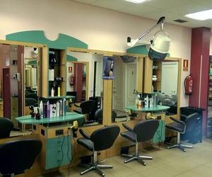 Interior de nuestra peluquería en Madrid