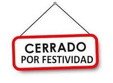 CERRADO 26 DE MAYO