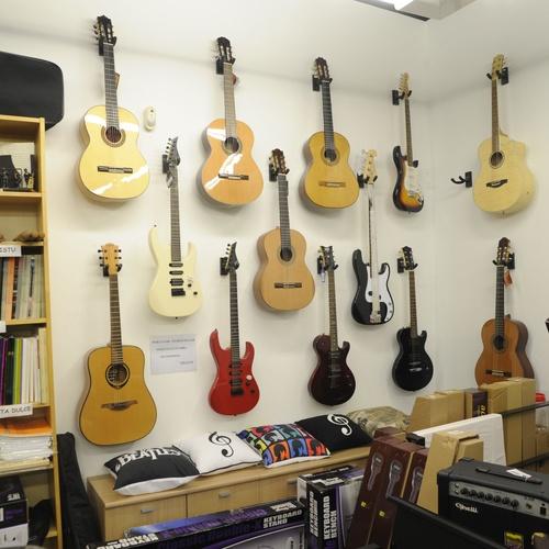 Tienda de instrumentos musicales en Bilbao