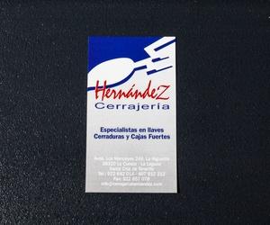 Galería de Cerrajería en San Cristóbal de La Laguna | Cerrajería Hernández
