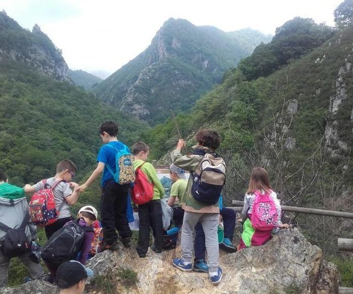 Senderismo con niños: Actividades de El Trasgu La Fronda