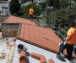 Rehabilitación de tejados en Málaga