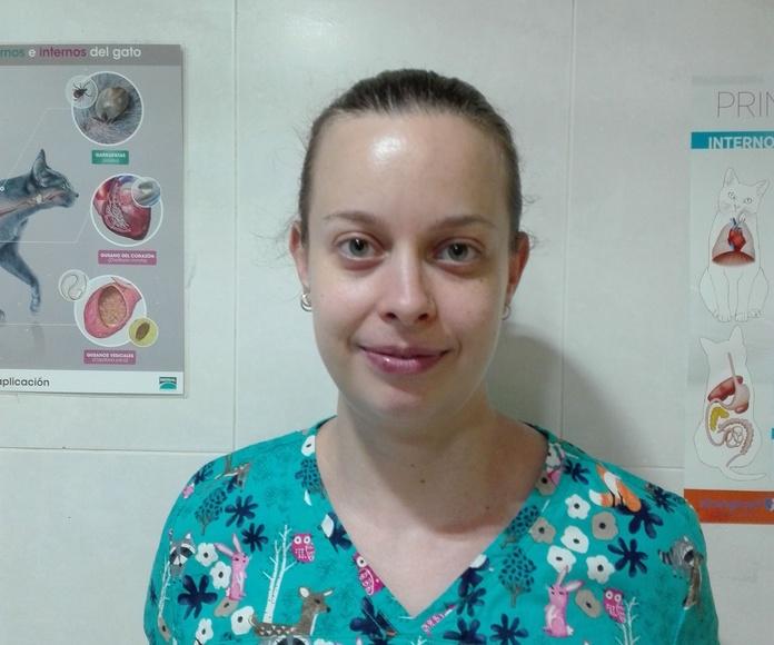 Helena Díaz. Veterinaria licenciada por la UCM