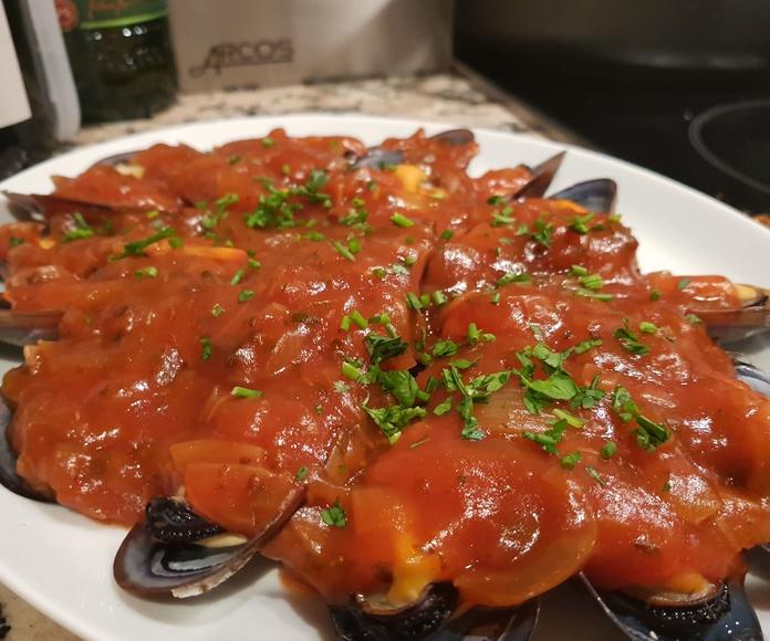 Conchas: Carta de Restaurante Los Remos Lázaro