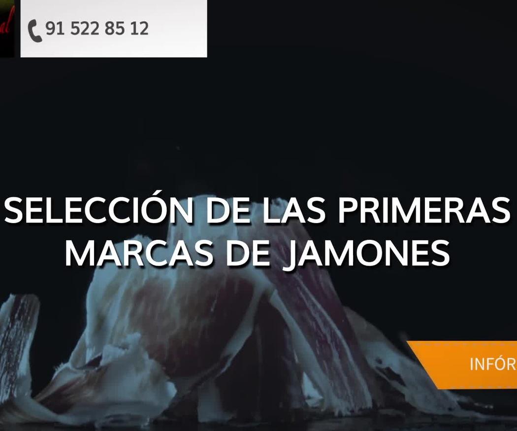 Jamón ibérico de bellota Madrid centro