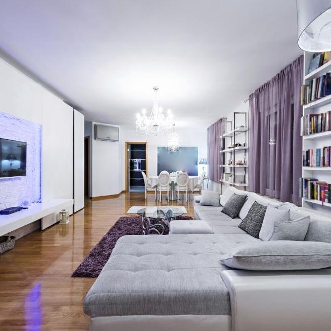 Un espacio único y original para el salón de tu casa