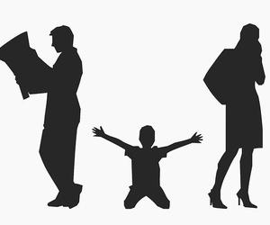 El derecho de visitas en caso de divorcios