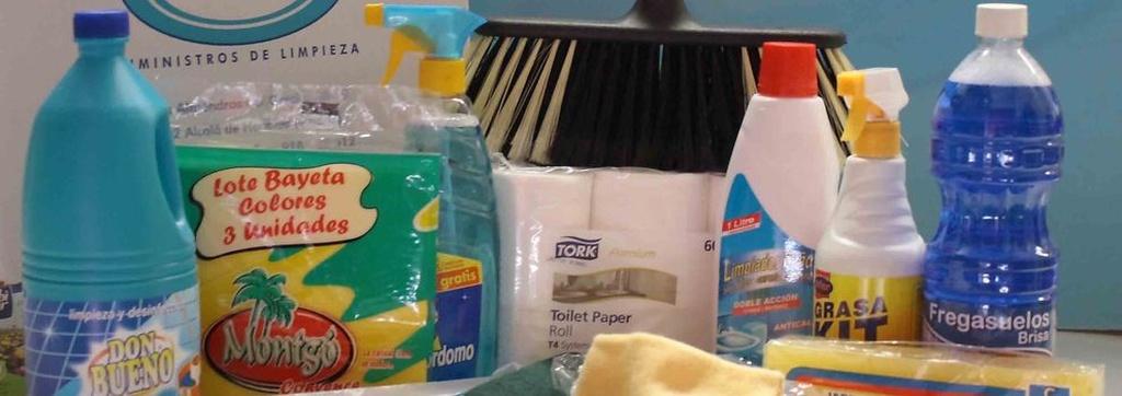 Productos de limpieza en Madrid centro | Hiperclim