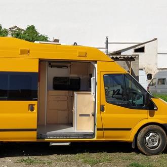 Ford Transit de 3 plazas