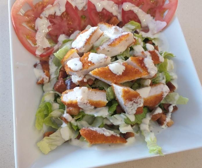 Ensaladas: Carta de El Destino Gastrobar