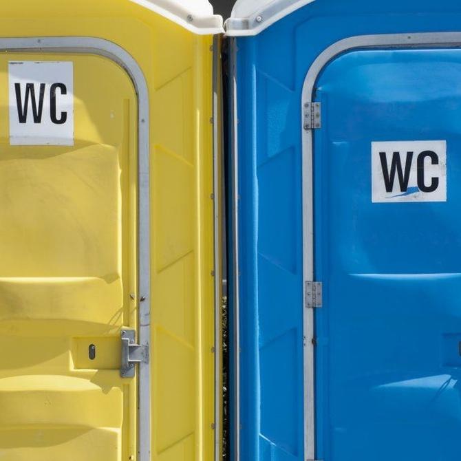 Baños portátiles, imprescindibles en las obras