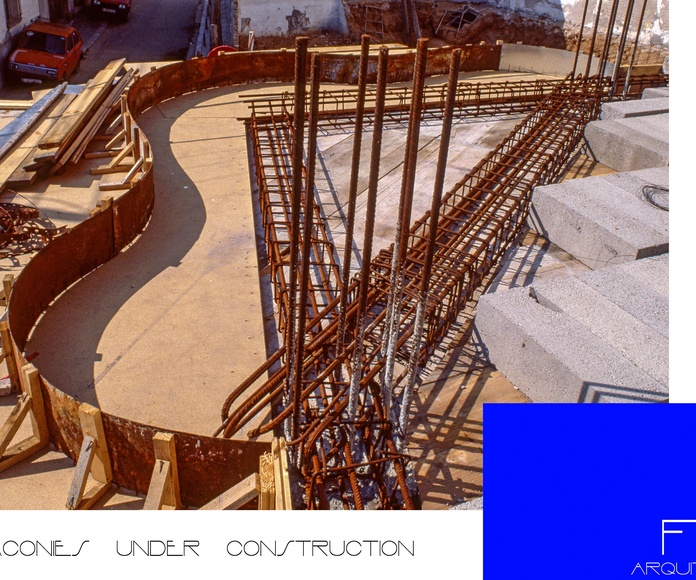 Balconies Under Construction
