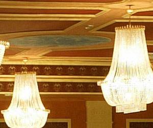 Detalle de la decoración del restaurante