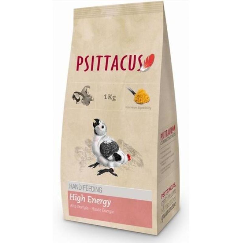Psittacus Alta Energía Papilla 1kg: Para tu mascota de New Art Can
