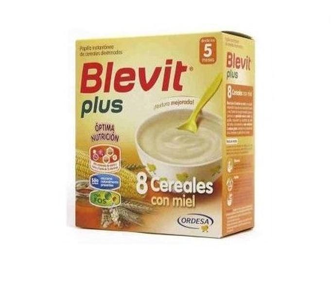 Blevit plus 8 cereales con miel : Productos de Parafarmacia Centro