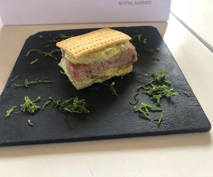 Nuestra Tapa en la XI Semana Gastronómica del Atún Barbate.
