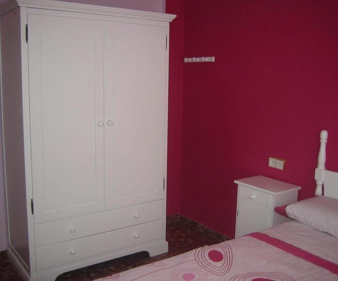 Dormitorio restaurado