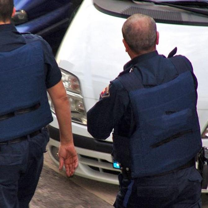 ¿Llevan armas los vigilantes de seguridad?