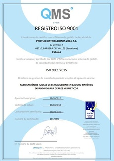 Política de calidad ISO 9001 2015