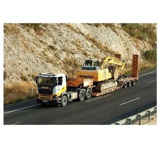 Maquinaria y camiones