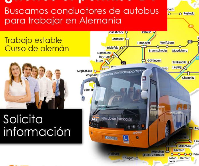 ofertas de trabajo como conductor de autobús en Alemania