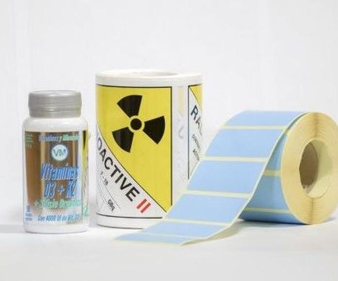Etiquetas impresas: Productos de Etiquetas Romero Comprometidos
