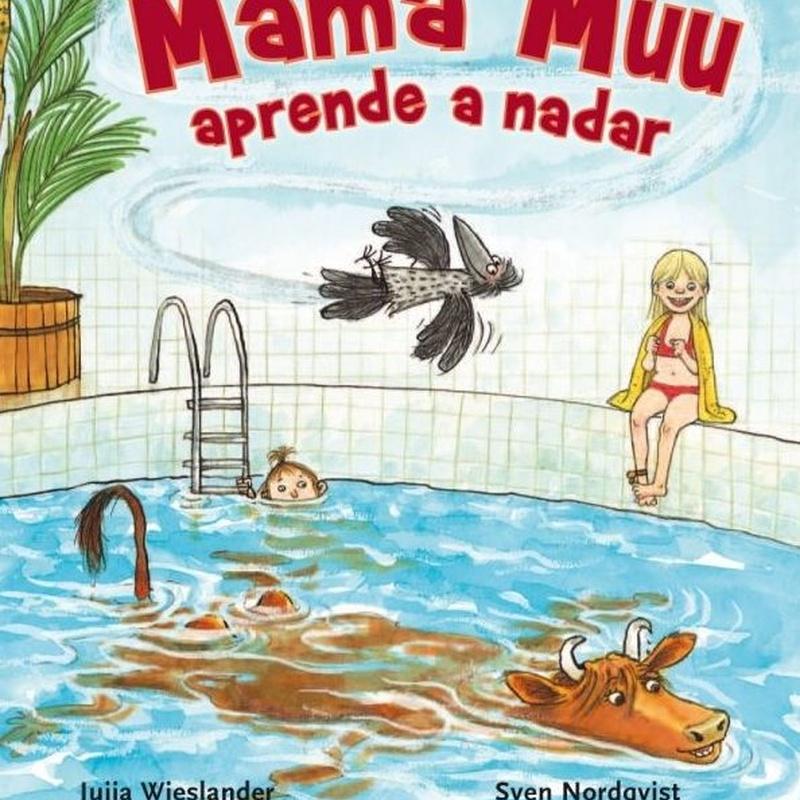 MAMA MUU APRENDE A NADA