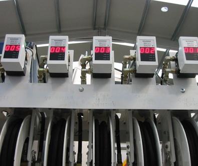 Instalaciones de suministro y recogida de lubricantes y anticongelantes
