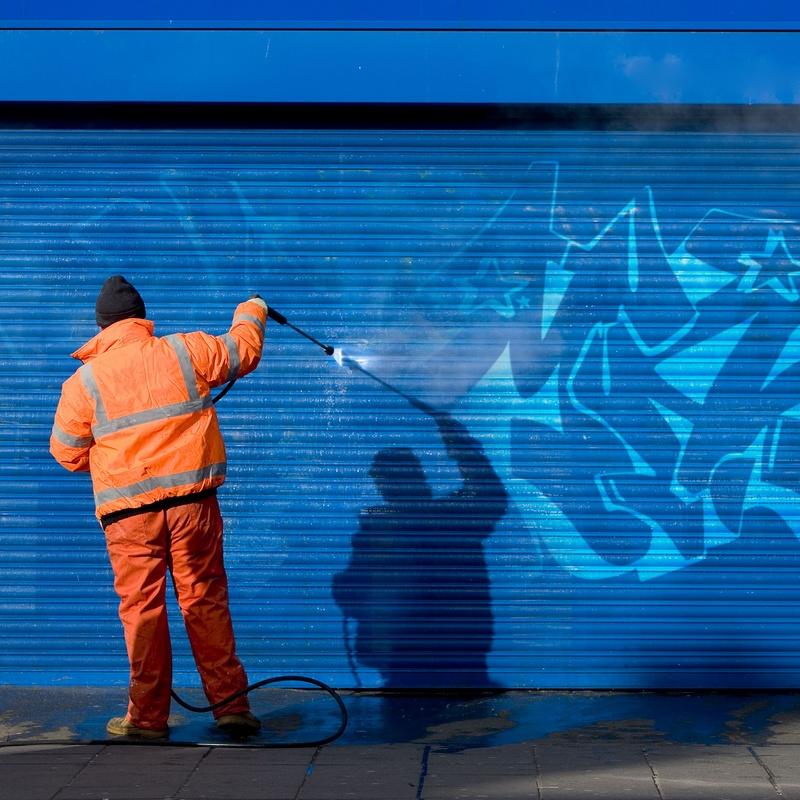 Limpieza de graffitis: Servicios  de Limpiezas Ciudad Encantada, S.L.