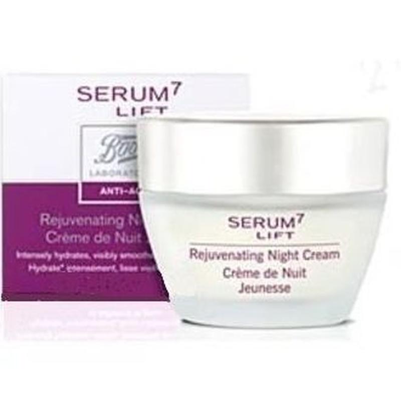 Serum 7 Lift crema noche rejuvenecedora: Catálogo de Farmacia Las Cuevas-Mª Carmen Leyes