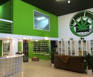 Venta de artículos relacionados con la marihuana