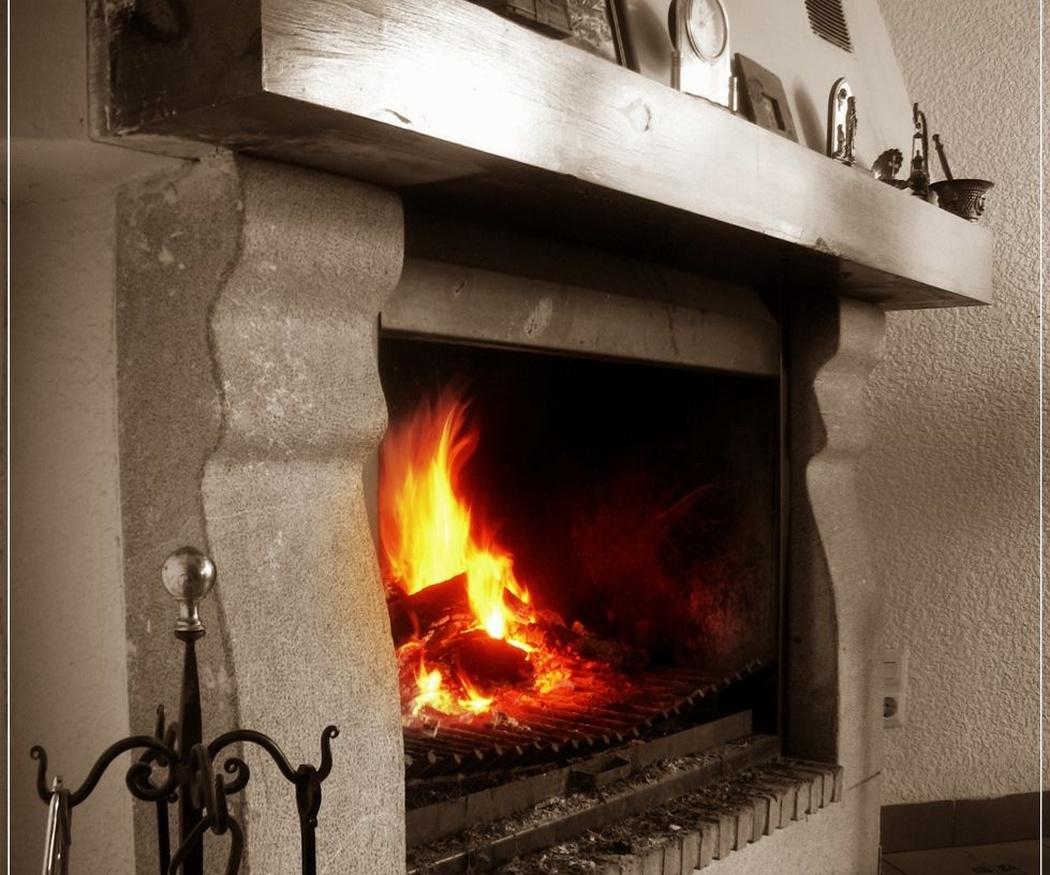 Terapia con fuego: el fuego sanador de una chimenea