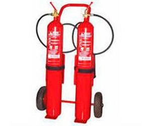 Extintores con diferentes capacidades