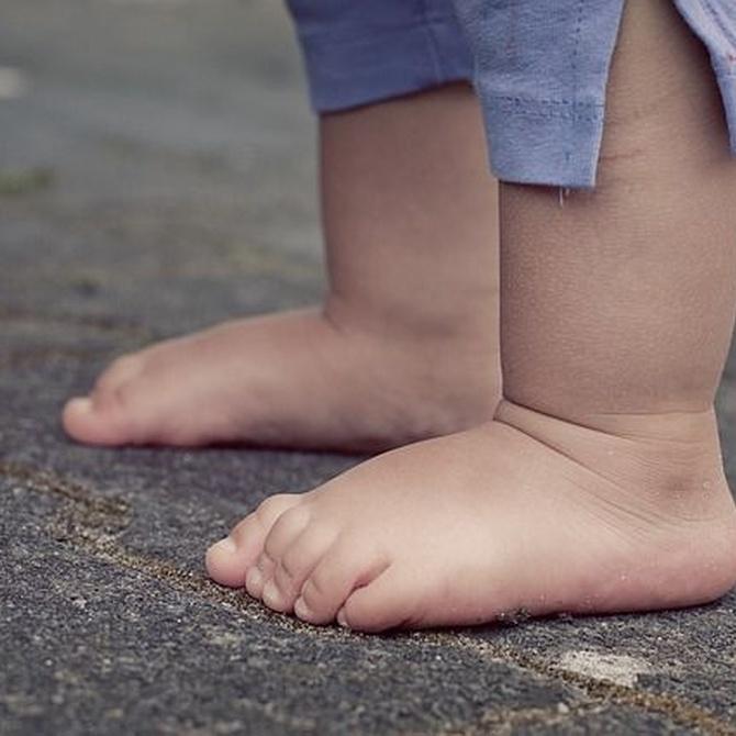 Bebés descalzos, ¡todo beneficios!