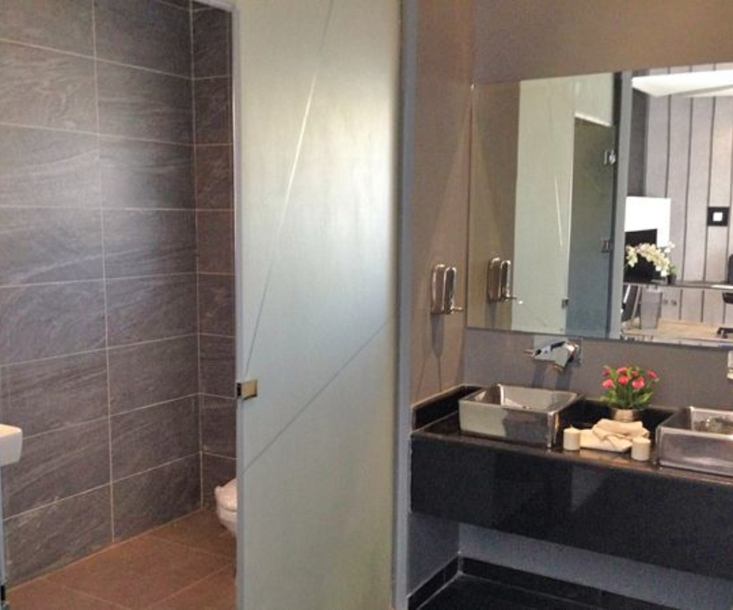 ¡Cómo han cambiado los baños!