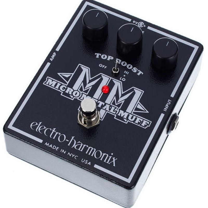 Pedal de distorsión para metal Electro Harmonix Micro Metal Muff