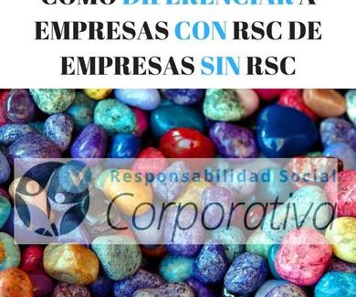 EMPRESAS CON RSC O EMPRESAS SIN RSC