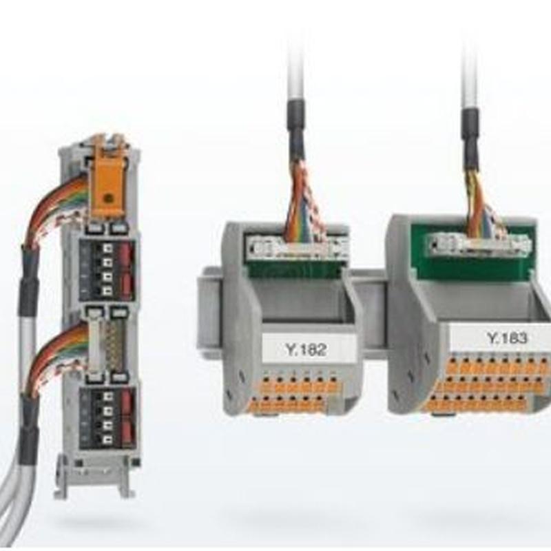 Sistemas de cableado para sistemas de control: Productos de Phoenix Contact, S.A.U.