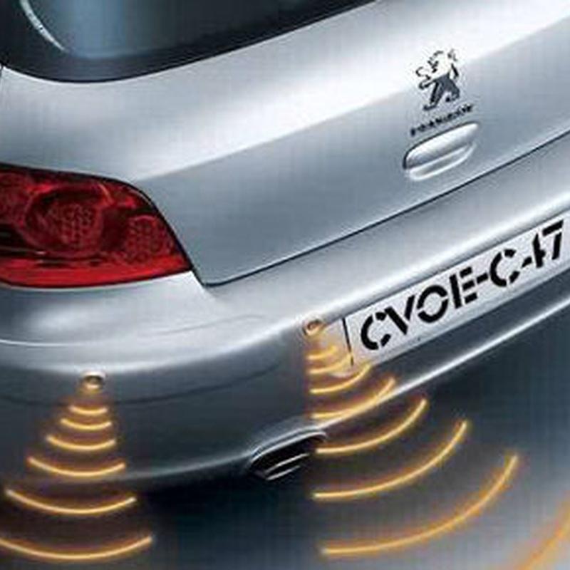 Sistemas de ayuda al aparcamiento.: Servicios de Media Car