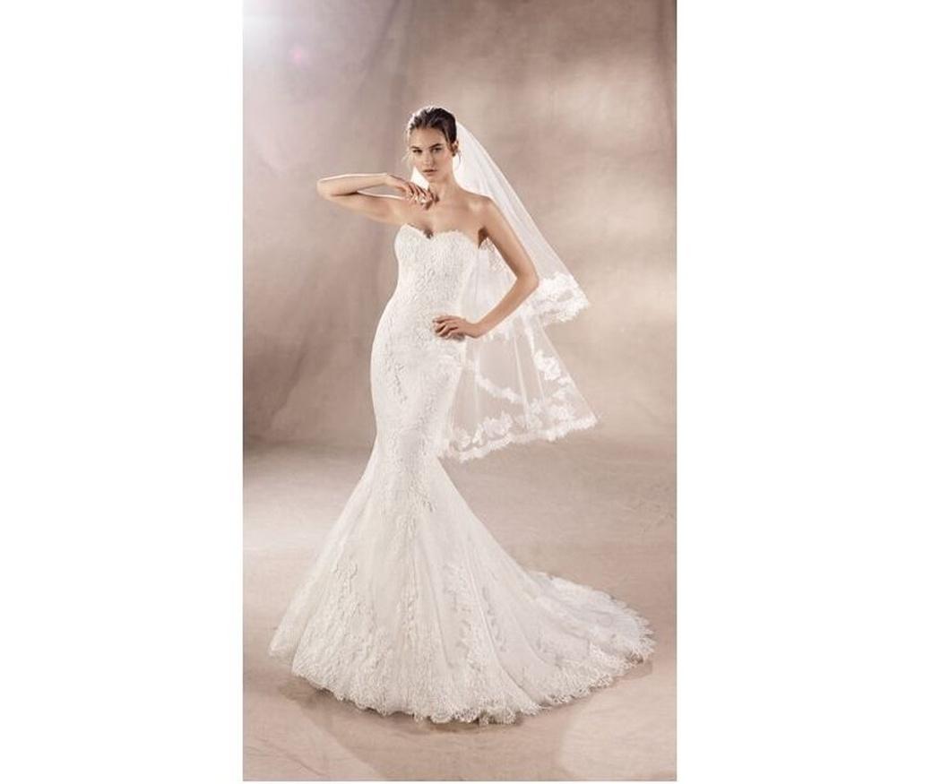 El escote para tu vestido de novia