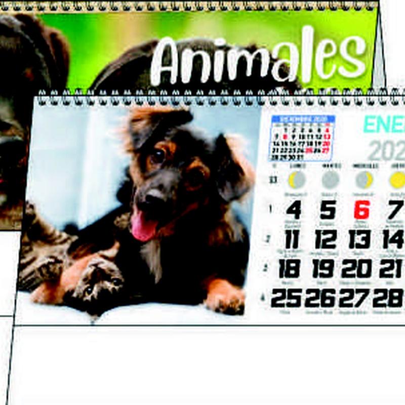 Ref. 56 - Animales: Nuestros Productos de Gráficas Kalendex