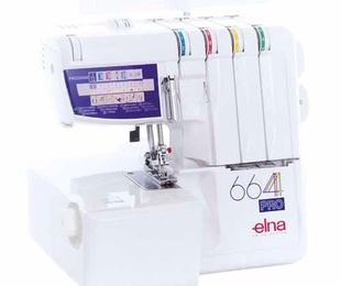 Elna 664 Pro Overlock de 2, 3 y 4 hilos con convertidor